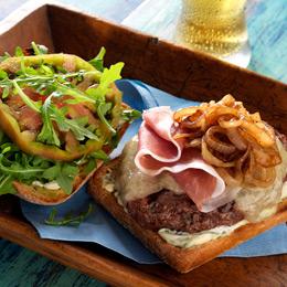 Italian Beef Burgers